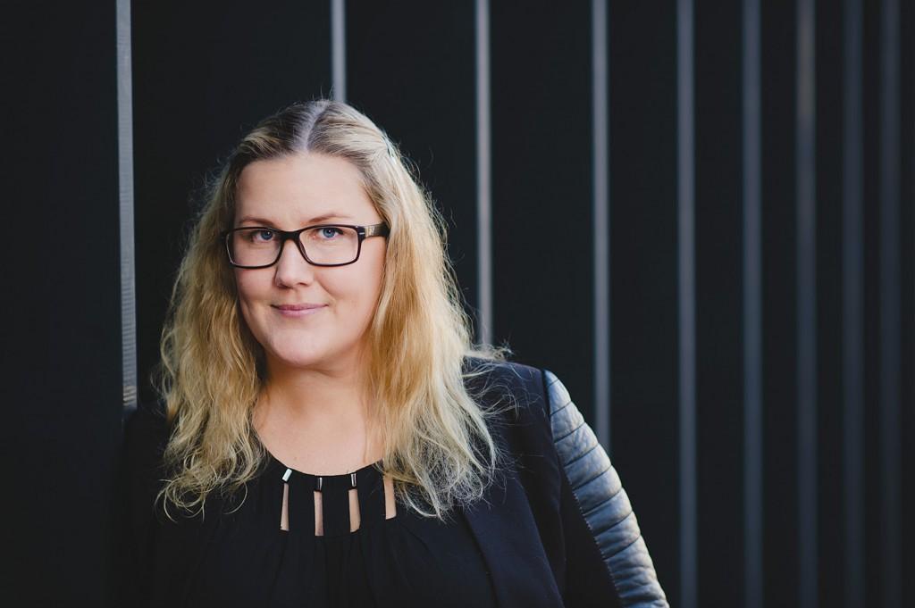 Porträtt vid Täby Centrum