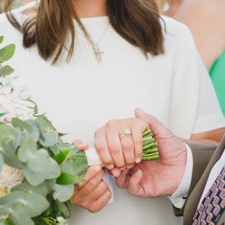 bröllop, Lidingö, sommarbröllop, bukett, vigselring