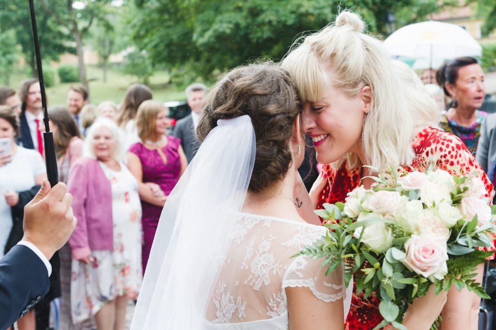 Bröllop, bröllopsgäst, kyrkbröllop, Uppsala, Helga Trefaldighets Kyrka