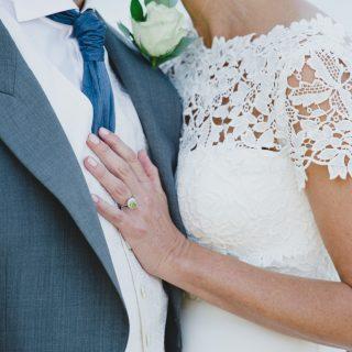 Stockholm, sommarbröllop, bröllop, vigselring, brudklänning