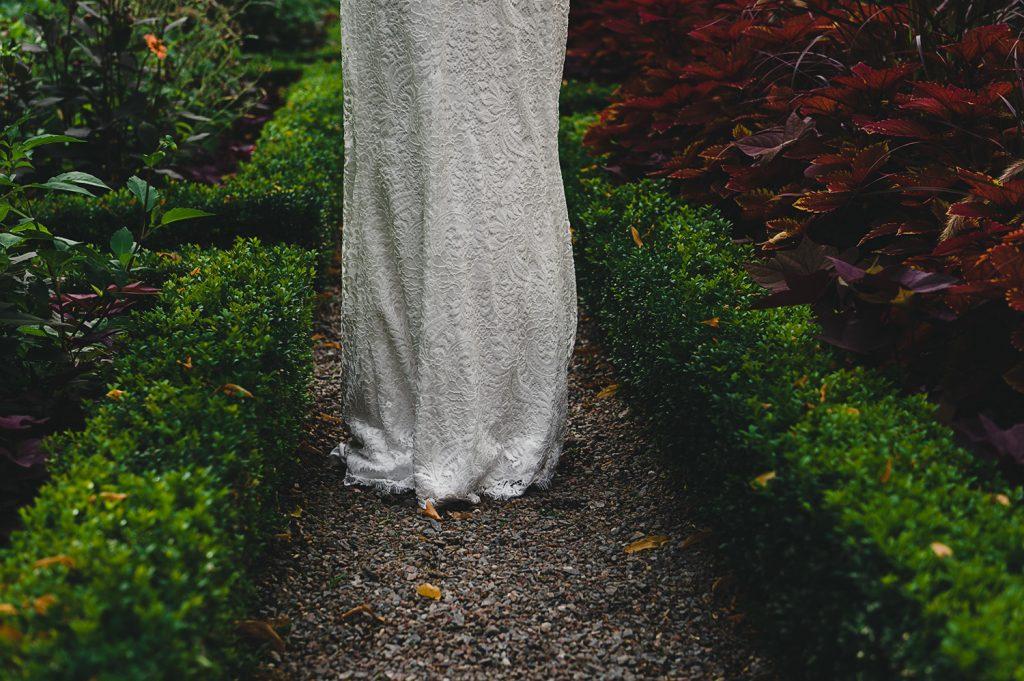 Brudklänning vid Ulriksdals slott