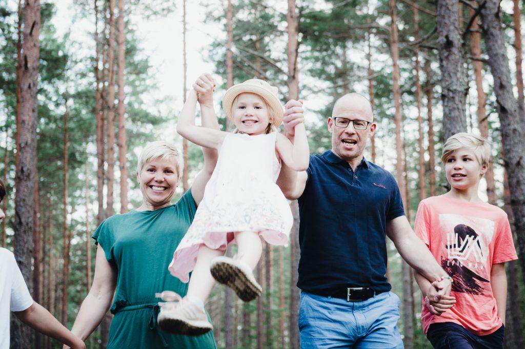 Familjefotografering i Täby
